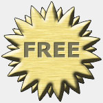 Graphic for a coupon with the word Free.